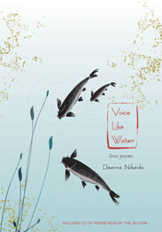 Image of Deanna Nikaido's second book Voice Like Water